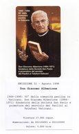 Vaticano - Urmet - Don Giacomo Alberione - Nuova - Validità 1.9.2000 - (FDC13050) - Vaticano
