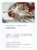 Vaticano - Urmet - Cappella Sistina - Michelangelo - Nuova - Validità 1.1.2001 - (FDC13051) - Vaticano