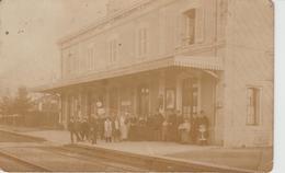 Doubs - Rougemont - Gare - Carte Photo - Autres Communes