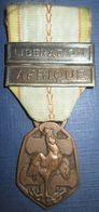 Medaille Commemorative 39-45 Liberation-Afrique - Frankreich