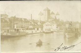 ( CARTE PHOTO ) (ANNECY )( 74 HAUTE SAVOIE ) 1902 - Lieux