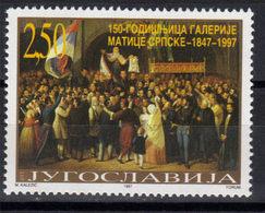 "Yugoslavia,150 Years Of Gallery ""Matica Srpska"" 1997.,MNH - 1992-2003 République Fédérale De Yougoslavie"