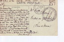Nimes La Maison Carrée Avec Cachet 115 Régiment D'artillerie Lourde , Dépot - Nîmes