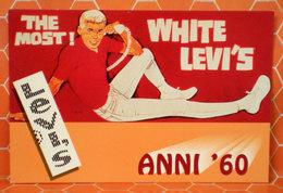 Levi's The Most! White Levi's Anni 60 Cartolina - Publicidad