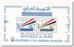 Irak 1967, Postfris MNH, 4th Anniversary Of The Ramadan Revolution - Irak