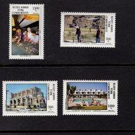 672677554 TURKISH CYPRUS 1992 POSTFRIS MINT NEVER HINGED POSTFRISCH EINWANDFREI SCOTT 322 323 324 325 TOURISM - Chypre (Turquie)