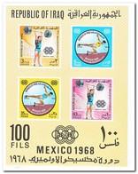 Irak 1968, Postfris MNH, Olympic Games - Irak