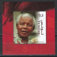 Tunisia. Scott #  MNH S/sheet. 100th Birthday Of Nelson Mandela. Joint Issue With 5 More Countries  2018 - Joint Issues