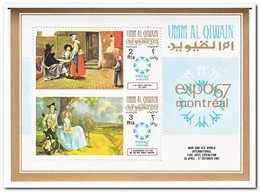 Umm Al-Qiwain 1967, Postfris MNH, Paintings EXPO '67 - Umm Al-Qiwain