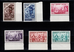 Algerie - YV 319 à 324 N** Complete Sinistres D'Orleansville Cote 23,50+ Euros - Algeria (1924-1962)
