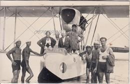 Alassio_Sv_Idrovolante Sulla Spiaggia-Il Ricordo Del Mio Primo Volo,Egle-Vg Il 25/8/1930-Integra E Originale Al 100%an2 - Savona