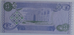 Iraq 1 Dinar 1992, UNC, World Paper Money #P-79 - Iraq