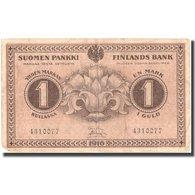 Billet, Finlande, 1 Markka, 1916, 1916, KM:19, TTB - Finlande
