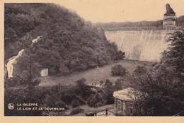 4 CARTES  / LA GILEPPE / LE BARRAGE / VUE GENERALE / FILTRES / LAC / DEVERSOIR - Gileppe (Barrage)