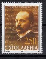 Yugoslavia,125 Years Of Birth-S.Binički 1997.,MNH - 1992-2003 République Fédérale De Yougoslavie