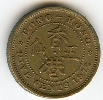 Hong Kong 5 Cents 1972 KM 29.3 - Hong Kong