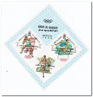 Umm Al-Qiwain 1968, Postfris MNH, Olympic Games With Overprint - Umm Al-Qiwain