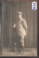 9657  POSTCARD AK CARTE PHOTO  W.W.1.CAMP DE MUNCHENBERG PORTRAIT DE PRISONNIER - Muencheberg