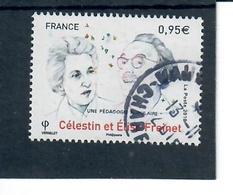 France 2018 Celestin Et Elise Freinet Cachet Rond - France