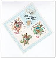 Umm Al-Qiwain 1969, Postfris MNH, Olympic Games With Gold Overprint - Umm Al-Qiwain