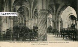 CPA - PROVINS - INTERIEUR DE L'EGLISE SAINTE-CROIX (ETAT PARFAIT) - Provins
