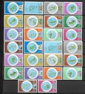 VANUATU - CARTES - YVERT 583/608 ** MNH - COTE = 85 EUR. - Vanuatu (1980-...)