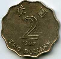 Hong Kong 2 Dollars 1997 KM 64 - Hong Kong