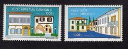 672695914 TURKISH CYPRUS 1993 POSTFRIS MINT NEVER HINGED POSTFRISCH EINWANDFREI SCOTT 350 351 REHABILITATION PROJECT - Chypre (Turquie)