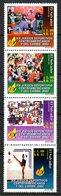 SALVADOR. N°1501-4 De 2002. Jeux Sportifs Centro-américains Et De La Caraïbe. - Briefmarken