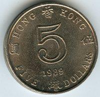 Hong Kong 5 Dollars 1989 KM 56 - Hong Kong