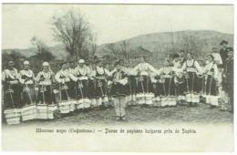 Danse De Paysans Bulgares Près De Sophia. - Bulgarie
