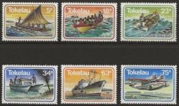Tokelau 1983 - MiNr. 84-89 - Postfrisch - Tokelau