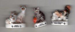 LOT Des 3 Chats Coffret éditions ATLAS 18 Pièces Avec Logo PELOTE & COEURS - - Animals