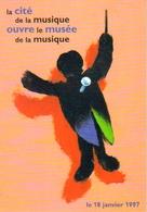 """Carte Postale """"Cart'Com"""" - Série Expo., Salons, Musées - La Cité De La Musique (Chef D'orchestre) - Musées"""