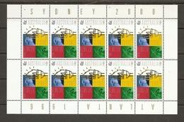 Australie 1996 - Jeux Olympiques Atlanta - Sydney - Bloc De 10 1543 MNH - Flamme - Aigle - Kangourou - Mint Stamps