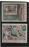 CONGO - POSTE AERIENNE -THEME DE GAULLE N° 38 ET 134 -TB - COTE : 45 € - Congo - Brazzaville