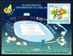 SALVADOR. BF 48 De 2002. Jeux Sportifs Centro-américains Et De La Caraïbe. - Briefmarken