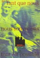 """Carte Postale """"Cart'Com"""" - Série Expositions, Salons, Musées - Musée De La Résistance Et De La Déportation De L'Isère - Musées"""