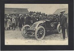 CPA Voiture Automobile Sport Circuit De La Sarthe Edmond Renault Non Circulé - Other