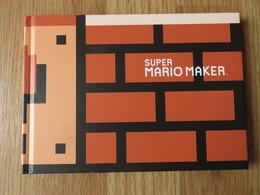 Super Mario Maker Takashi Tezuka Shigeru Miyamoto 96blz 2015 Nintendo - Culture