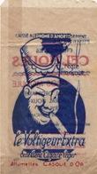 Sachet Avec Publicité Le Voltigeur Extra ( Cigare ) Celtiques ( Cigarettes ) Casque D'Or ( Allumettes ) - Publicités