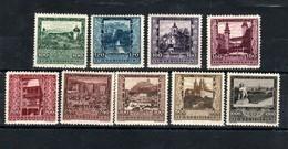 """Österreich 1923: """"Österreichische Landeshauptstädte"""" Postfrisch * M.Falzrest (siehe Scan/Foto) - 1918-1945 1st Republic"""