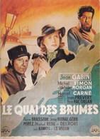LE QUAI DES BRUMES (dil290) - Affiches Sur Carte