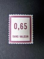 FICTIFS NEUF ** N°F 35 SANS CHARNIERE (FICTIF F35) - Fictifs