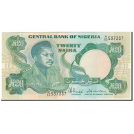Billet, Nigéria, 20 Naira, KM:26c, NEUF - Nigeria