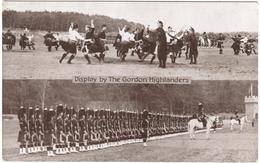 Display By The Gordon Highlanders  Aldershot Tattoo Series - Gale & Polden - Unused 1930's - Manoeuvres
