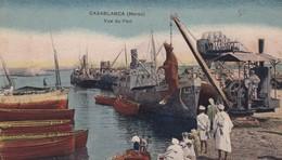 CASABLANCA / VUE DU PORT / CHARGEMENT BETAIL - Casablanca