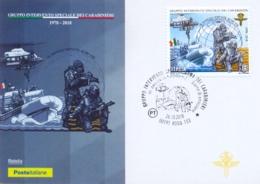 Italia 2018 Maximum Card FDC 40° Anniversario Del GIS Gruppo Intervento Speciale Dell'Arma Dei Carabinieri - Polizia – Gendarmeria