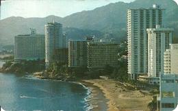 Acapulco, Guerrero (Mexico) Panoramica Con Hoteles Y Condominio De Lujo, View Of Some Luxury Hotels And Condominiums - Messico