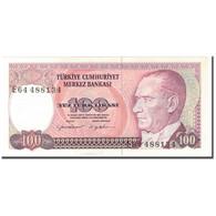 Billet, Turquie, 100 Lira, 1970-10-14, KM:194b, NEUF - Turquie